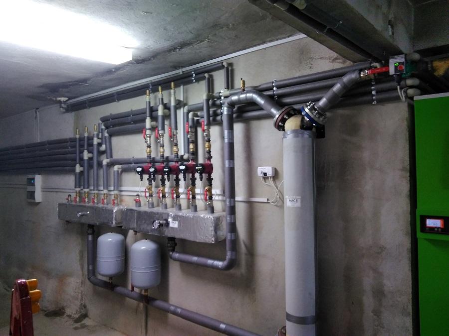 MCE kotłownia montaż zubrzyca