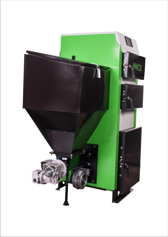 MCE biomasa nierdzewna kocioł V2 DUO