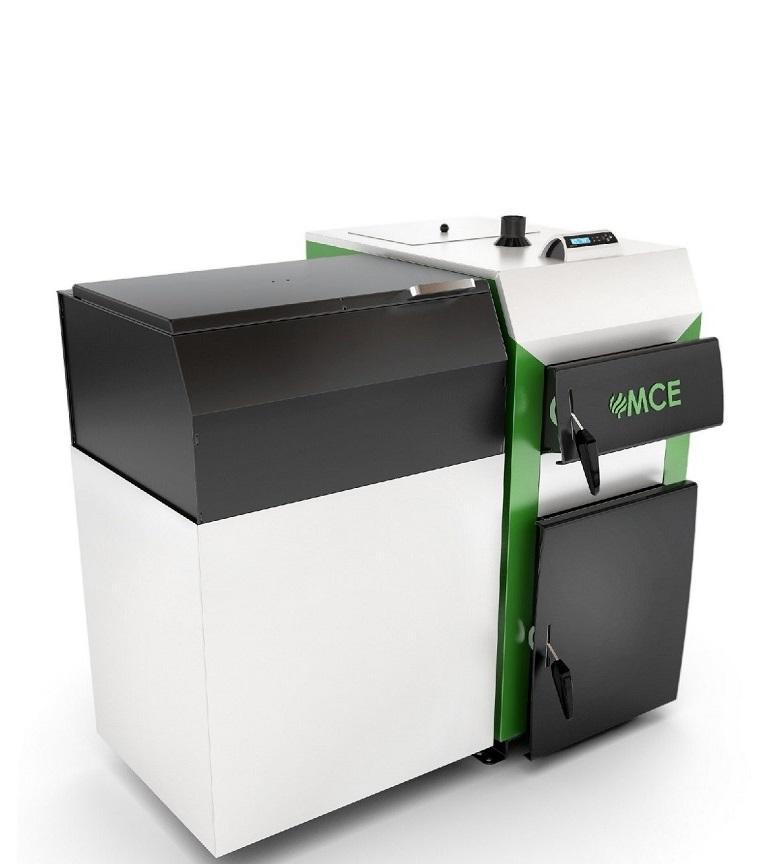MCE kocioł biomasa nierdzewna V6 rynnowy