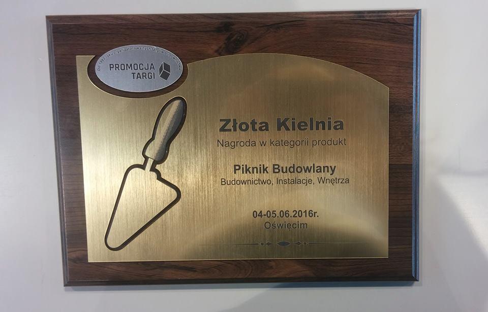 MCE nagroda Złota Kielnia