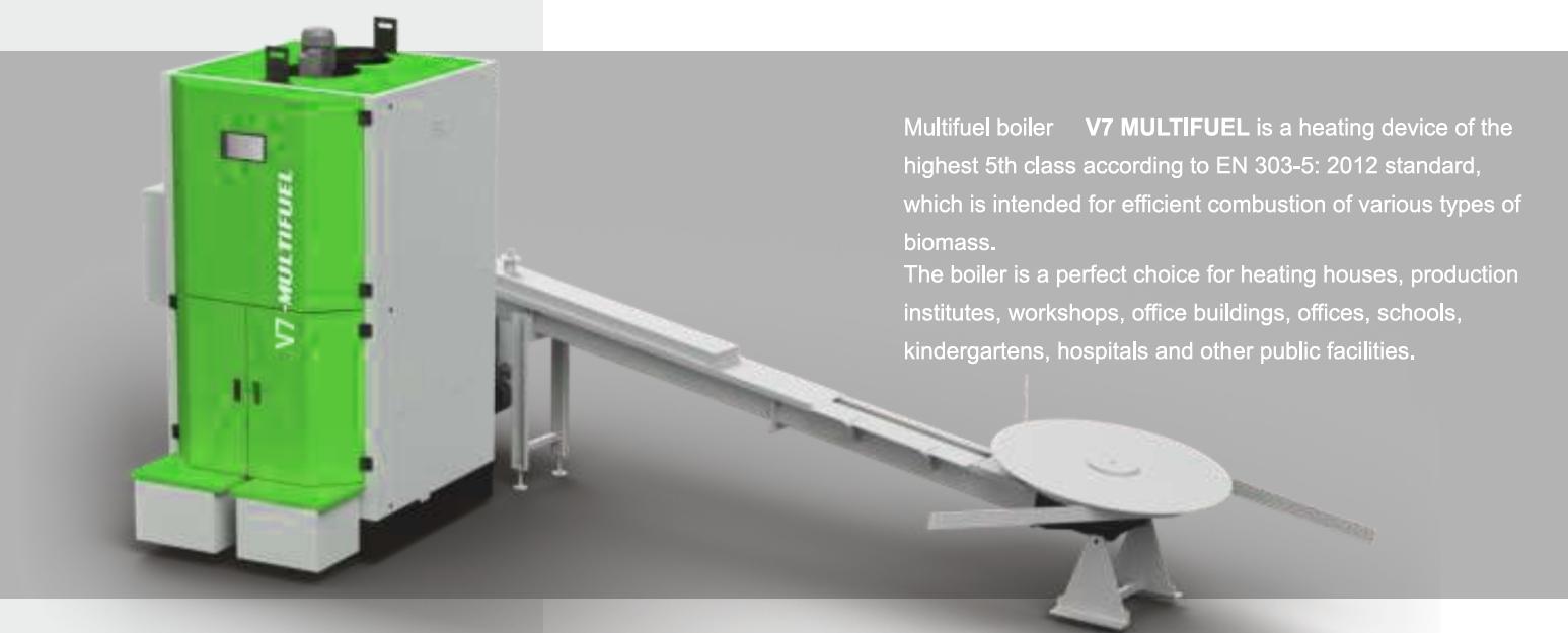 MCE boiler V7 for MULTIFUEL